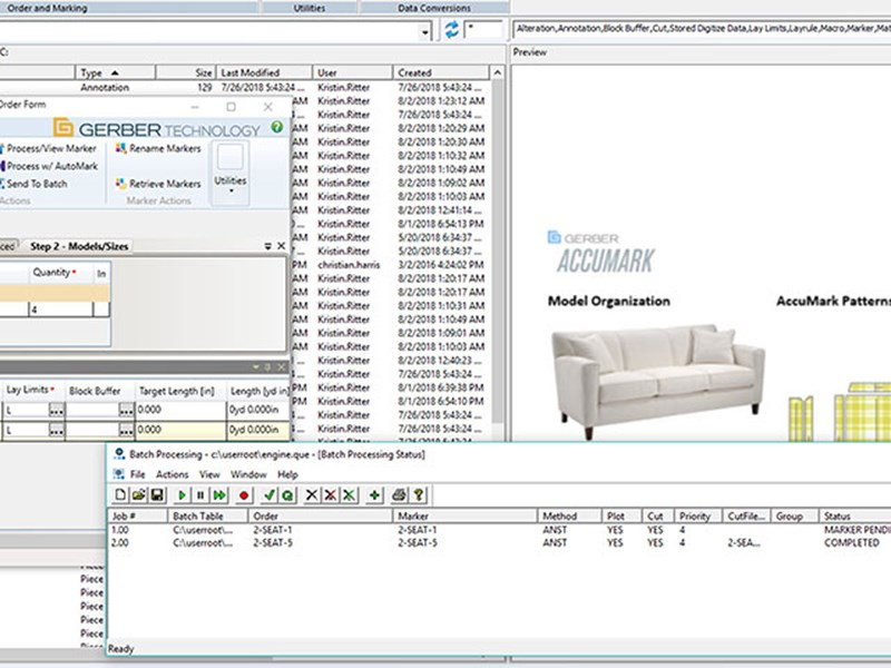 AccuMark for Furniture & Upholstery